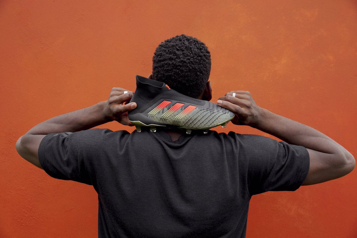 PPS4.  adidas Football x @paulpogba capsule collection season 4, available Saturday.  #LimitedCollection