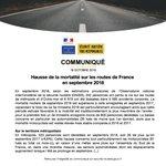 Image for the Tweet beginning: [Communiqué] Hausse de la mortalité