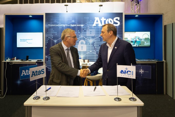 Yesterday we signed a #cybersecurity industry partnership with #NATO at #NIAS18 ✨