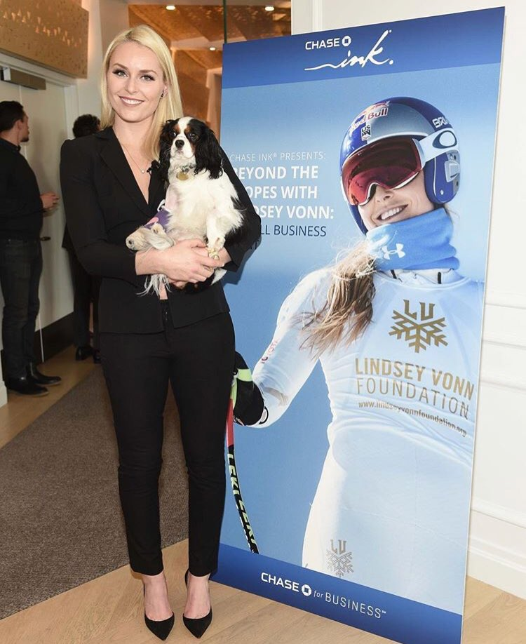 Today is a very special day for us! Celebrating the birthday of our founder @lindseyvonn. Although we celebrate you everyday with the values you've instilled in us and all the girls you've helped: #determination #kindness and #grit.