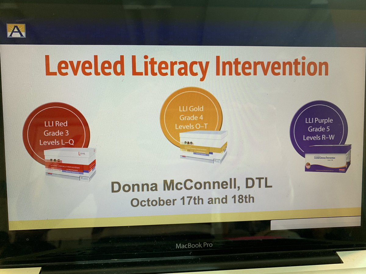 Thank you <a target='_blank' href='http://twitter.com/WMS_WolfPack'>@WMS_WolfPack</a> for hosting the upper level LLI training! The library was the perfect space and we were able to watch <a target='_blank' href='http://twitter.com/APSVirginia'>@APSVirginia</a> teachers teach a group!😊 <a target='_blank' href='https://t.co/oXGiDItBqN'>https://t.co/oXGiDItBqN</a>
