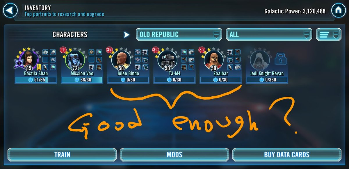 SWGOH Events on Twitter: