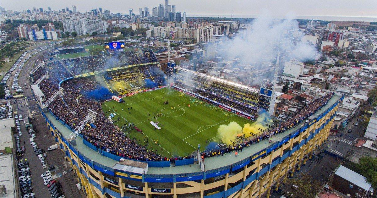 La Bombonera fue elegido como el mejor estadio del mundo en una encuesta https://t.co/F9hkSXq9pf