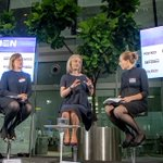 Sat down with @trussliz & @kate_day for or first #WomenRule London event to talk women, Theresa May, surviving social media scrutiny & so much more