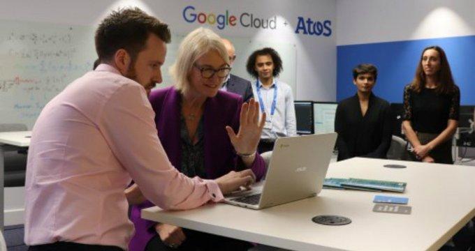 Atos inaugura un laboratorio de  #InteligenciaArtificial en Londres junto a @googlecloud...