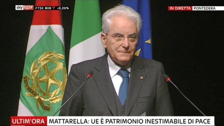 #UltimOra #Mattarella: #Ue è patrimonio inestimabile di pace #Canale50 https://t.co/0kxapzNrby