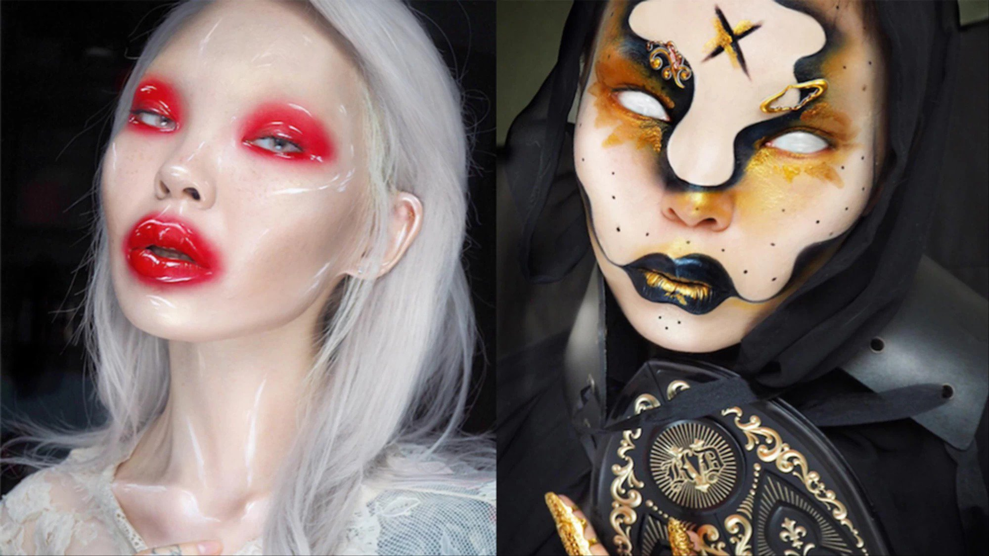 This make-up artist is redefining beauty with her extreme looks https://t.co/jyQ2kIdEk1 https://t.co/oFUXHJB4Vw