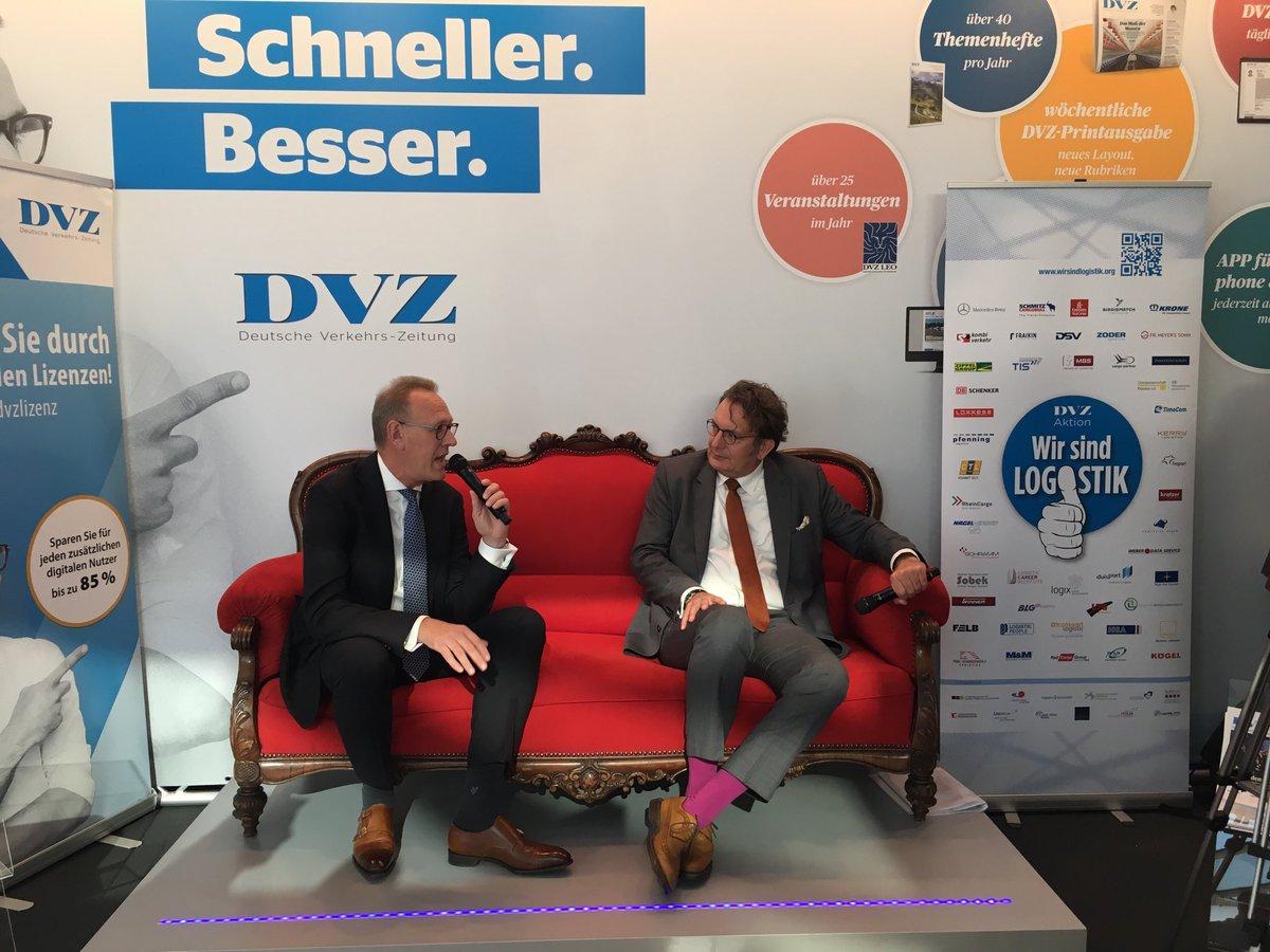 Blg Logistics On Twitter Frank Dreeke Heute Auf Dem Roten Sofa