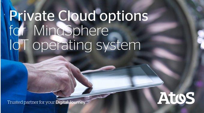 Atos und @Siemens bringen gemeinsam #MindSphere #IoT-Anwendungen in die Private #Cloud....