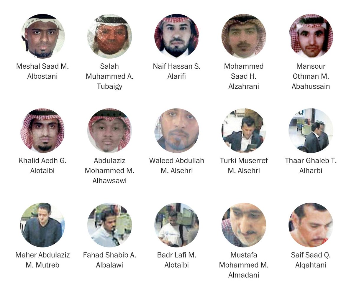 What we know about the 15 Saudis said to have played a role in Jamal Khashoggi's disappearance https://t.co/YIIv9pjqW0