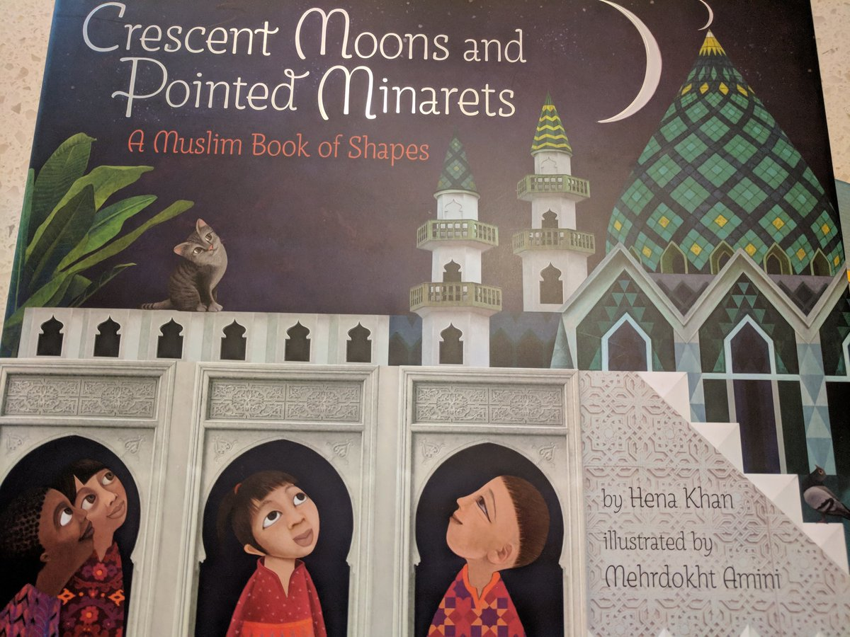 Crescent Moon and Pointed Minarets is the perfect mix of math concepts and Muslim culture and beliefs. Beautifully illustrated as well! Thank you <a target='_blank' href='http://twitter.com/henakhanbooks'>@henakhanbooks</a> for another amazing book! <a target='_blank' href='http://twitter.com/APSMath'>@APSMath</a> <a target='_blank' href='http://twitter.com/APSLiteracy'>@APSLiteracy</a> <a target='_blank' href='http://twitter.com/ChapuisC123'>@ChapuisC123</a> <a target='_blank' href='http://twitter.com/APSMathDrN'>@APSMathDrN</a> <a target='_blank' href='http://search.twitter.com/search?q=APSLibrariansInclude'><a target='_blank' href='https://twitter.com/hashtag/APSLibrariansInclude?src=hash'>#APSLibrariansInclude</a></a> <a target='_blank' href='https://t.co/lefDvFpC3b'>https://t.co/lefDvFpC3b</a>