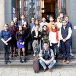#EDC18 16e Erasmus-Descartesconferentie: De 🇫🇷🇳🇱jonge talenten zijn bij de @Nuffic in Den Haag voor hun eerste werkbijeenkomst over kunstmatige intelligentie! #KunstmatigeIntelligentie #JeunesTalents