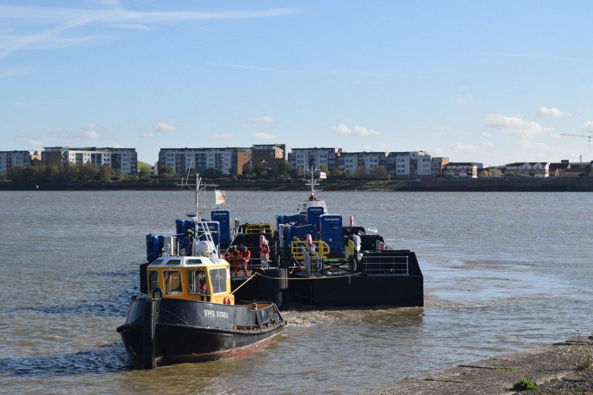 DpyekTlXcAEjeqE - Woolwich ferry upgrade #2