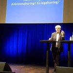 Professor Fred Nyberg om avkriminalisering/legalisering #Drogfokus2018