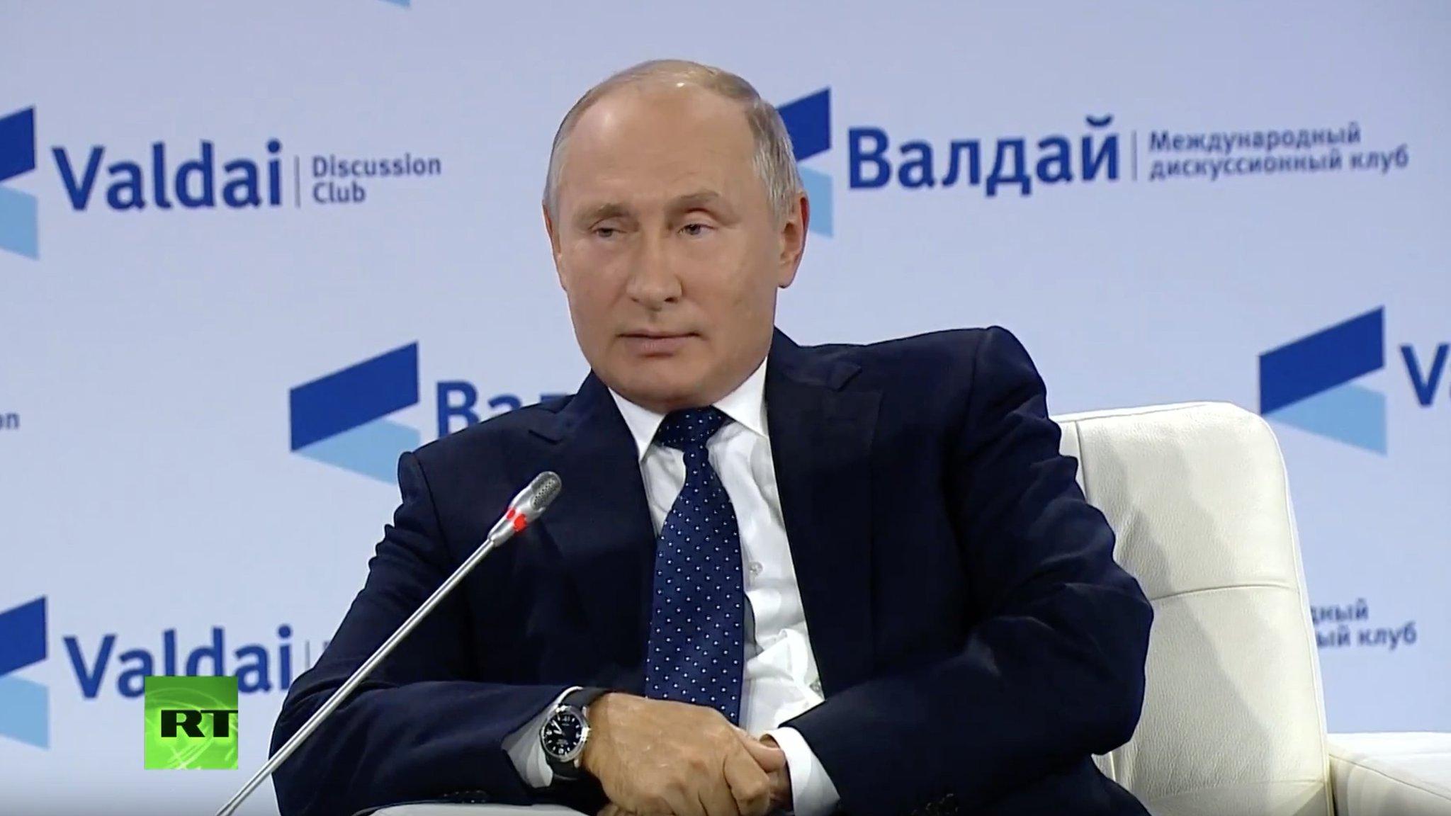 О речи Путина на Валдайском форуме…