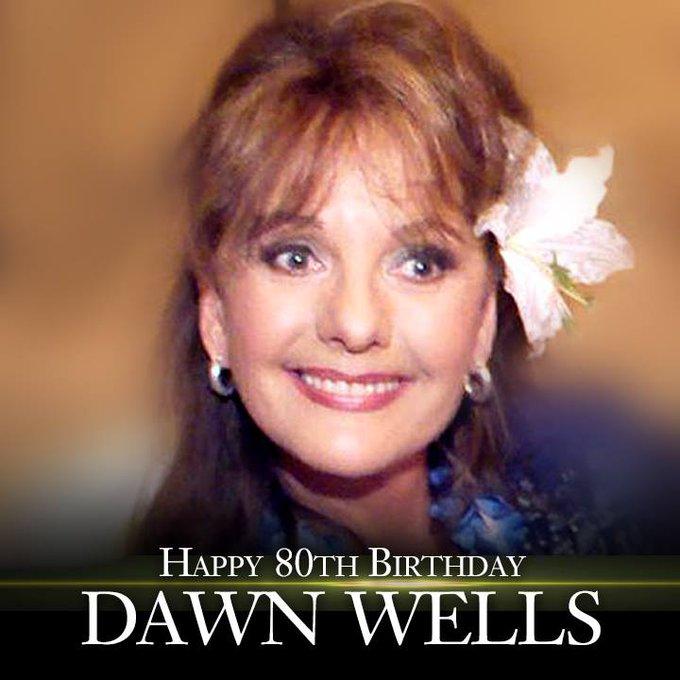 Happy Birthday to Mary Ann! \Gilligan\s Island\ star Dawn Wells turns 80 today!