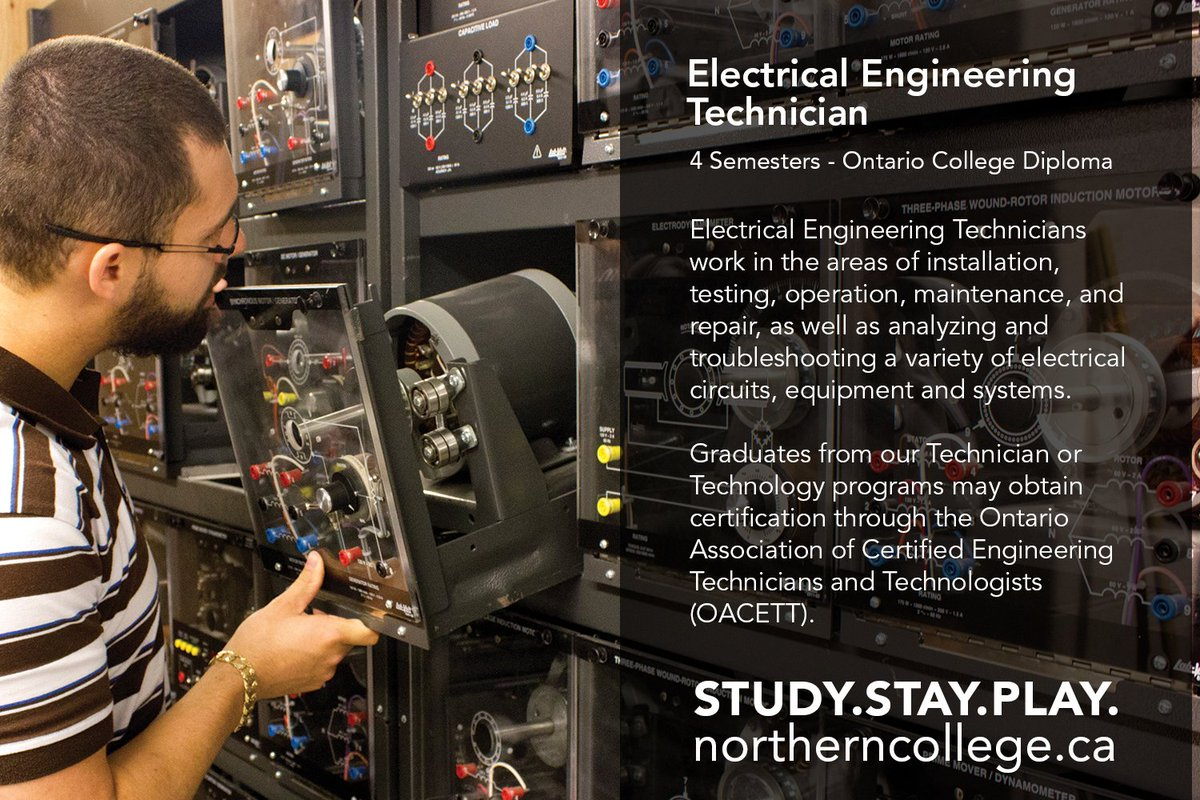 Northern College On Twitter Interested In Electrical Equipment How To Troubleshoot Circuit Our 4 Semester Engineering Technician Diploma Is Designed Give You The Necessary Skills Any Challenges May Face