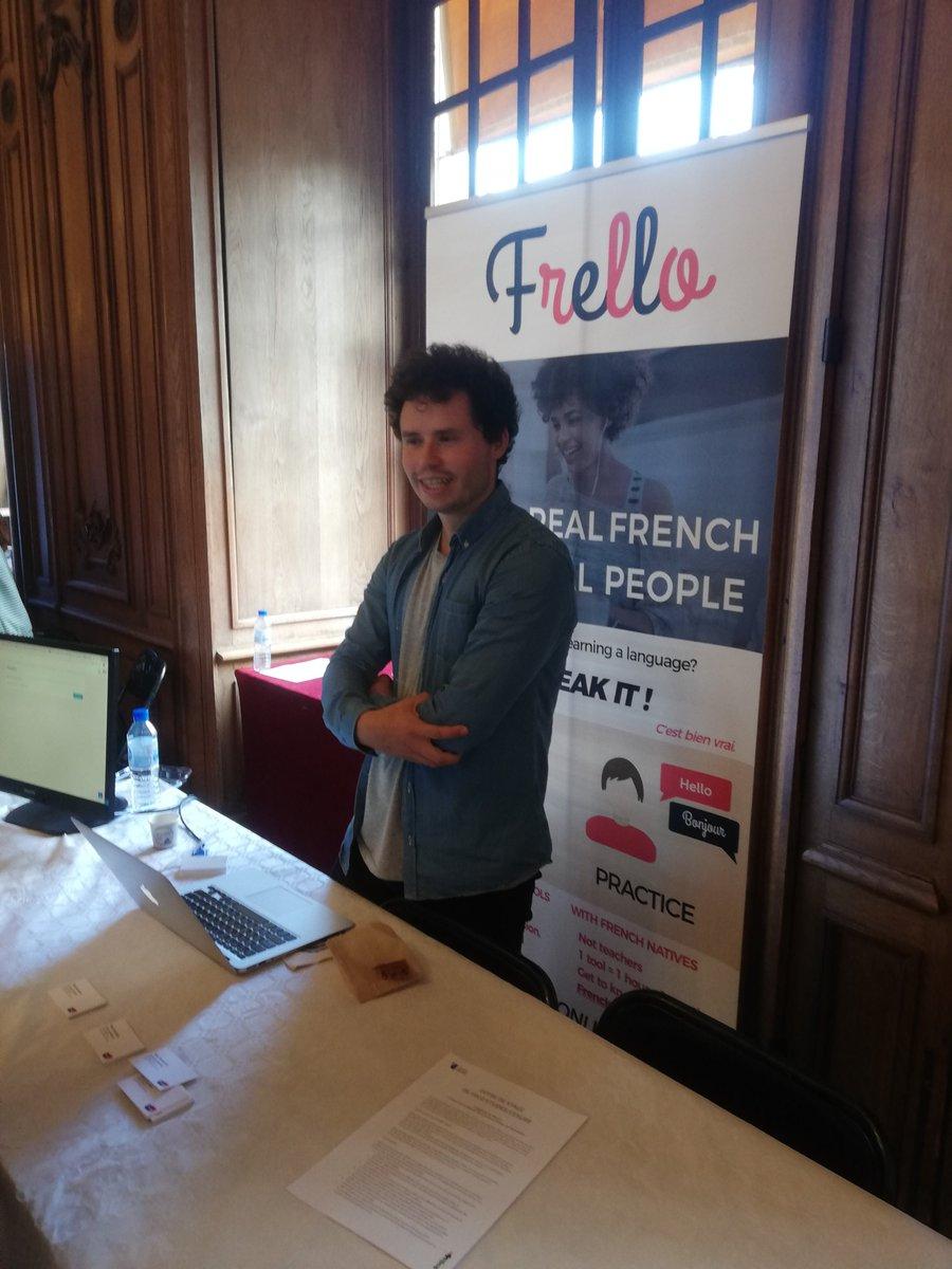 Venez rencontrer @Frello_French au #DeclicDay #Rouen @DeclicEntrep @NEOMAbs ! #innovation #entrepreneuriat https://t.co/aBruySLqLi