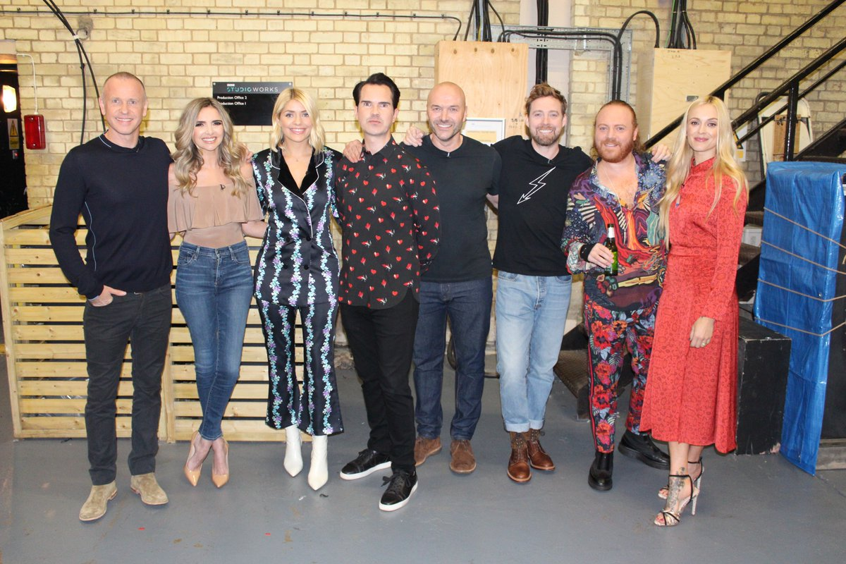 The calm before tonight's storm…. Join @lemontwittor @timlovejoy @simonrim @jimmycarr @hollywills @Fearnecotton @NadineCoyleNow @Rickontour for a brand new #Celebjuice  TONIGHT 10pm @itv2