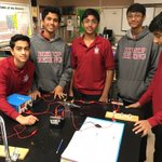Image for the Tweet beginning: Creating circuits in AP Science!