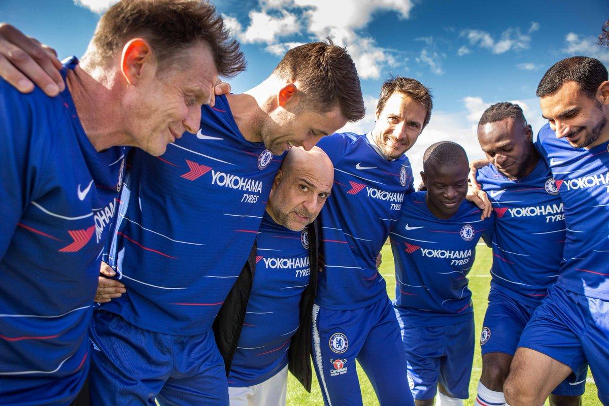 #Hyundai & #Chelsea stars give #cancer a kicking for @SU2C https://tinyurl.com/qgpk5fu @ChelseaFC @GaryJCahill @DavidLuiz_4 @nglkante @VictorMoses @DZappacosta @Capitancarloc @chapmans17 @Omid9