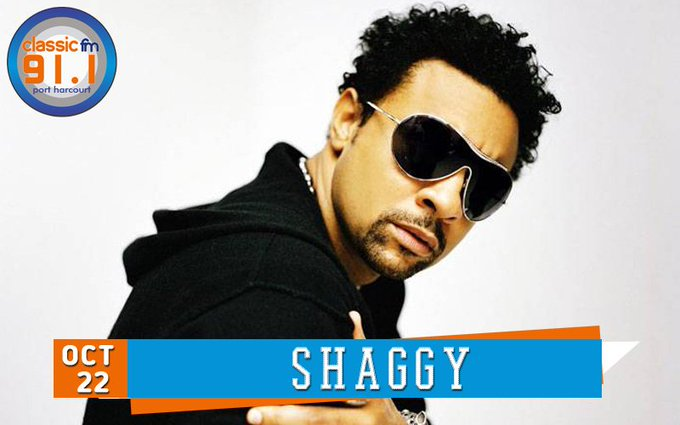 Happy birthday to reggae artist, Shaggy.