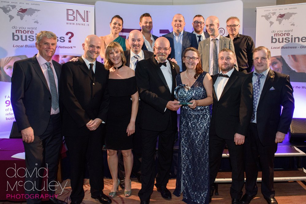 Boom!! Delighted to be part of the wonderful networking group that was named Chapter of the Year 2017-2018 at the BNI Dublin & North East Awards last weekend. Come visit us to grow your business!  #marketwest #business #strategy #branding #networking #marketing #dublin #support