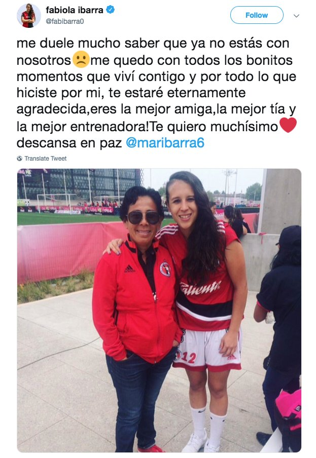 Marbella Ibarra Who Used Profits From Her Beauty Salon To Found Mexicos First Soccer Team