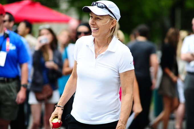Happy 62nd Birthday to Martina Navratilova. Where does she rank in the best female tennis players of all time?