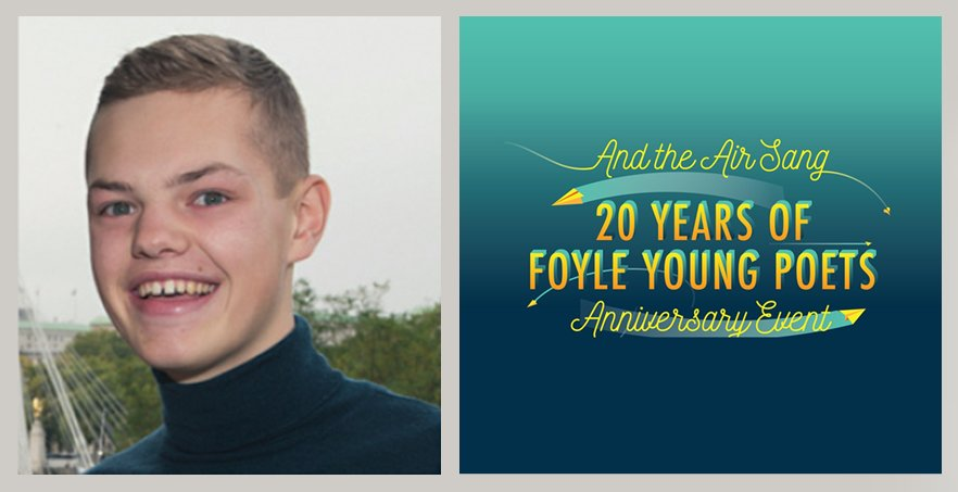 test Twitter Media - Celebrate 20 years of the #FoyleAwards with readings from ten Foyle Award-winning poets from across the decades! Our #AndtheAirSang event features the talented Magnus Dixon! October 23rd at the @southbankcentre. More info here: https://t.co/OHrr09zfkD https://t.co/ESndc8gmzS