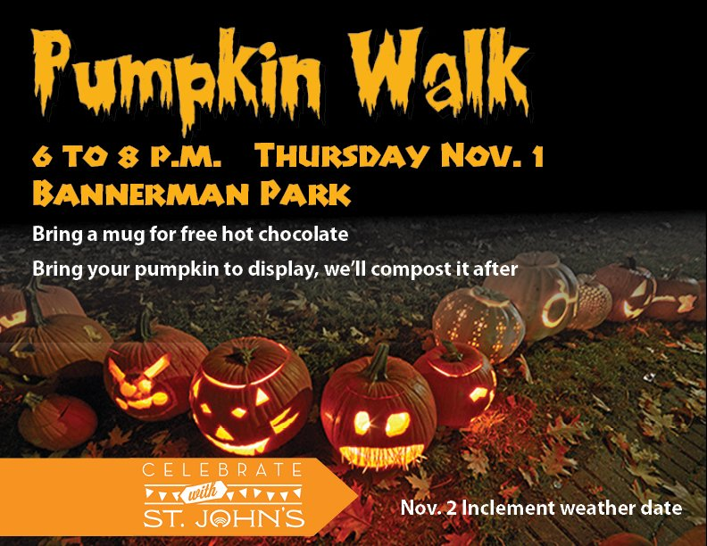 November 1, 2019 - St. John's Pumpkin Walk