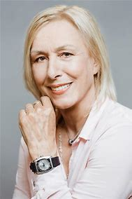 Happy birthday Martina Navratilova. Incredible athlete and person. Enjoy your day.