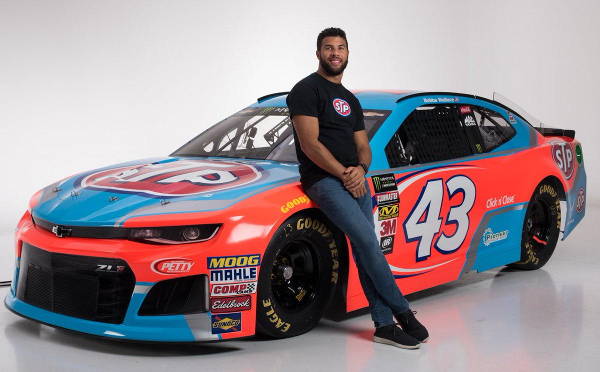Congratulations to @BubbaWallace  on his inclusion in the @EBONYMag 2018 Power 100 list! The list recognizes and celebrates the most inspiring and influential leaders of color who are impacting and shaping the world.Full list can be viewed here:  http:// ebony.com/power100-2018/  &nbsp;  <br>http://pic.twitter.com/Yocqt0VQ0q