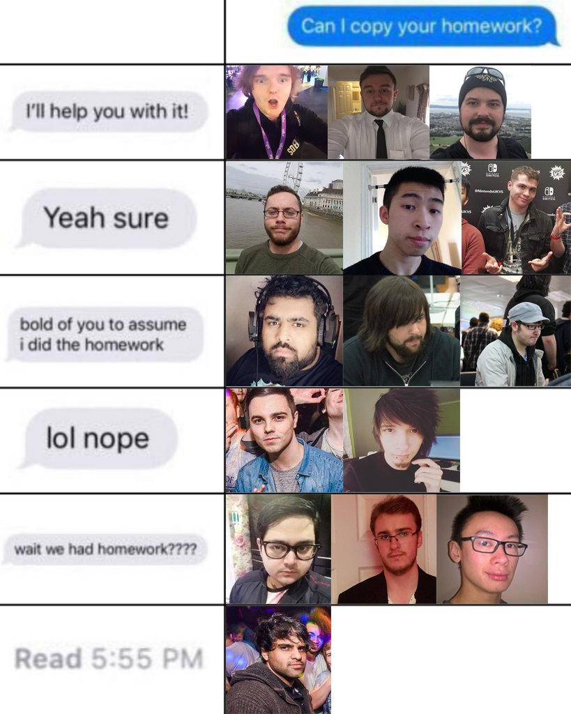 Can I copy your homework? Midlands edition. ������ https://t.co/zEi8swD84Y