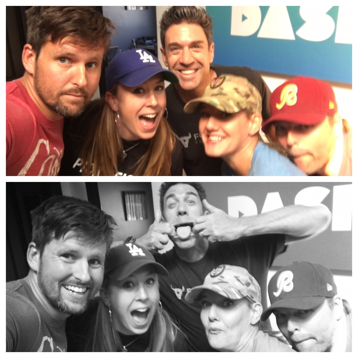We're on! #FandomSportsRadio with @jenmurphycomedy @eddiepence + special guests @LosANNEgeles62 & @NickDopuch!! LOTSA @Dodgers talk, why we want @RedSox in the #world series, and @Buck hatred at its finest TUNE IN! @dash_radio https://t.co/QfgZvS6ZAs https://t.co/xgYlefhHnw