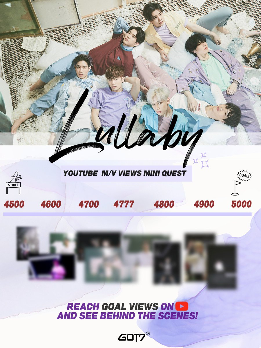 GOT7 &quot;Lullaby&quot; M/V Mini Quest Mini Behind the Scenes just for I GOT7@GOT7Official   #GOT7⁠ ⁠ #갓세븐⁠ ⁠ #PresentYOU⁠ ⁠ #Lullaby⁠<br>http://pic.twitter.com/cLbwI1p2Pw