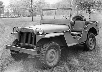 It's Throwback Thursday!!! Did you know the original jeep was designed in just two days! Bit different from the multimillion dollar development of the latest generation Wrangler out now.  Comment below on your all-time favourite Jeep model. #Funfacts #ThrowbackThursday #Jeep https://t.co/F2YXBIQJmy