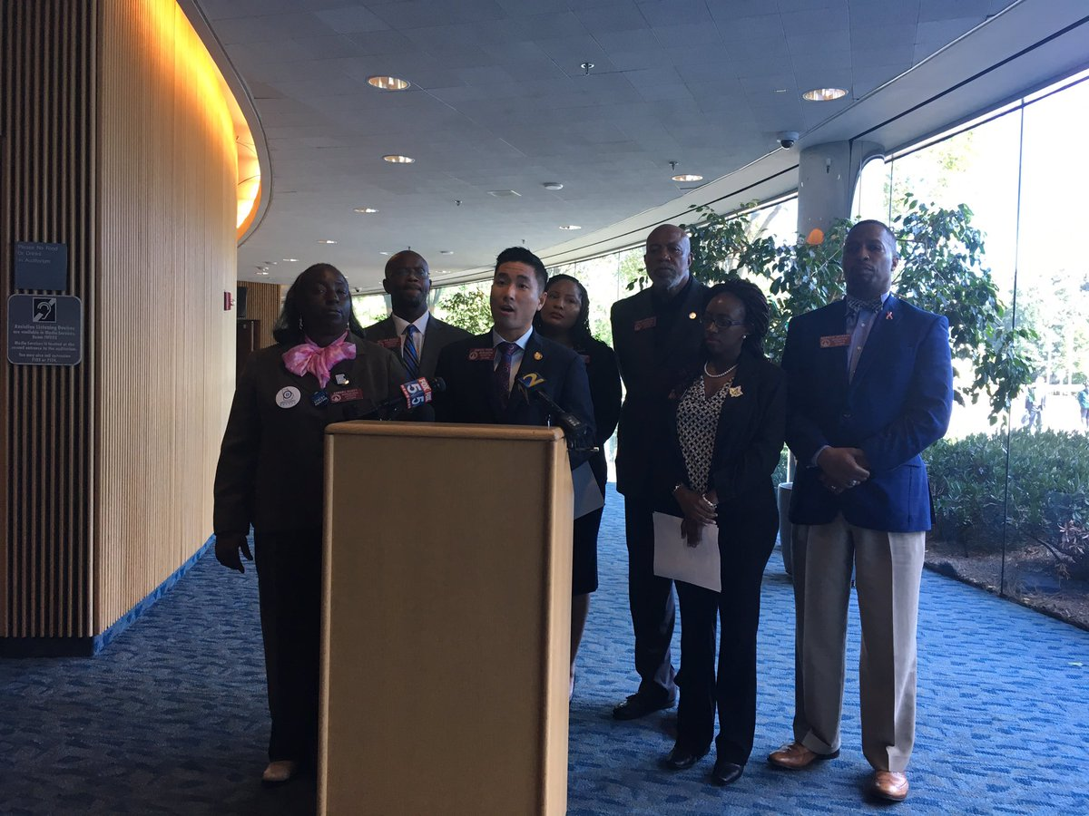 Legis Black Caucus, blames exact match policy.  #gapolpic.twitter.com/bejEQwzh72 – at Gwinnett County Justice and  Administration Center