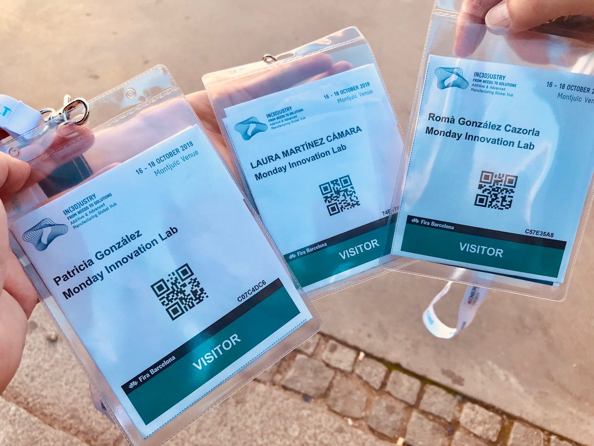 Last day at the third edition of @BcnIndustry From Needs To Solutions, the Additive & Advanced Manufacturing Global Hub  #bcnindustry #AdditiveManufacturing #3dprinting #In3dustry #digitaltransformation