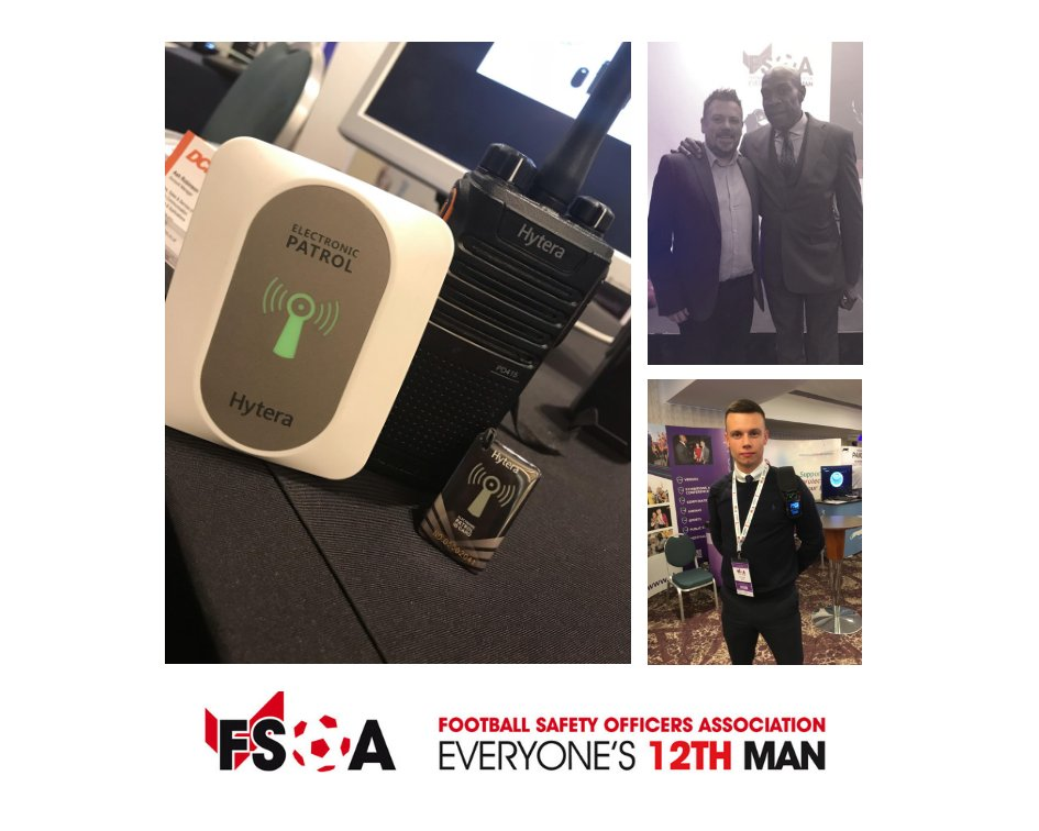 Thank you to everyone that stopped by to talk to us @TheFSOA Conference ⚽️about #radiocommunication solutions from #Hytera & to @frankbrunoboxer for such an inspirational talk.     #stadiumsafety #stadiumtech #hyteraradio #FSOAConference  #heretosupportyou