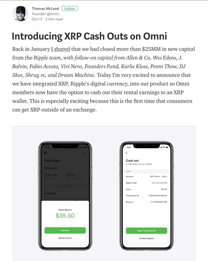 How do you cash out xrp