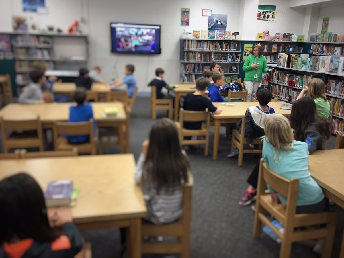 Discussing Battle of the Books here at <a target='_blank' href='http://twitter.com/TaylorESLibrary'>@TaylorESLibrary</a> with our fifth grade students. Kids select the books they think will win, create book trailers, and ultimately explore a ton of different books! <a target='_blank' href='http://twitter.com/TaylorESLibroar'>@TaylorESLibroar</a> <a target='_blank' href='http://twitter.com/HaroldPell'>@HaroldPell</a> <a target='_blank' href='http://search.twitter.com/search?q=APSLibrariansExplore'><a target='_blank' href='https://twitter.com/hashtag/APSLibrariansExplore?src=hash'>#APSLibrariansExplore</a></a> <a target='_blank' href='http://search.twitter.com/search?q=FriendlyCompetition'><a target='_blank' href='https://twitter.com/hashtag/FriendlyCompetition?src=hash'>#FriendlyCompetition</a></a> <a target='_blank' href='https://t.co/qfryAquqDP'>https://t.co/qfryAquqDP</a>