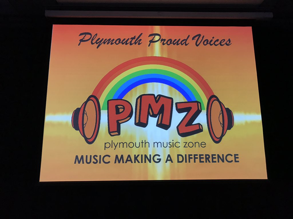 Plymouth Music Zone On Twitter Setting The Scene For Launch Of
