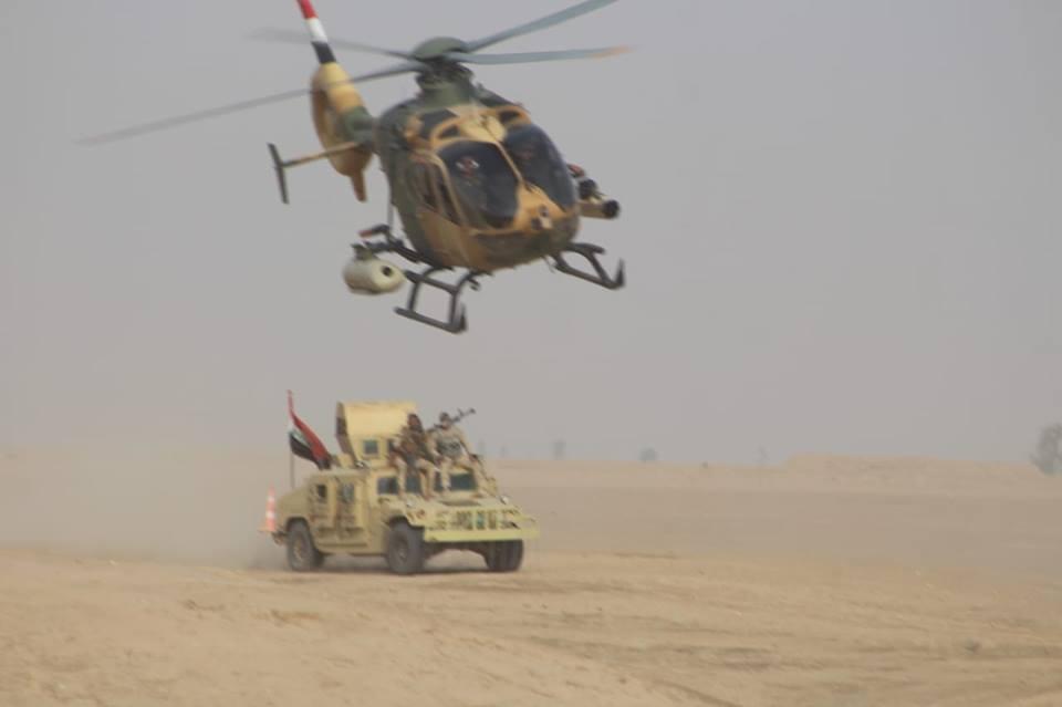 مروحيات EC635 العراقية تحصل على تسليح  DpzRIWOWkAAB2Ds