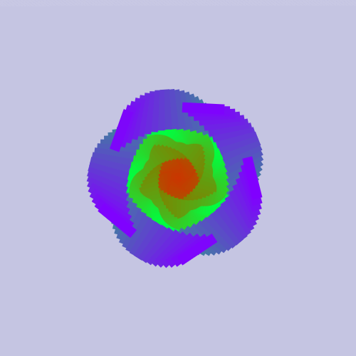➤ Edit and animate it on Iterograph https://t.co/PhthLlez9k #abstract #geometry #art #proceduralart #iterograph