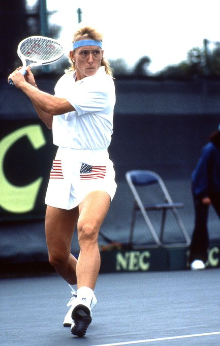 Today we are wishing a very happy birthday to 4-time champion Navratilova!