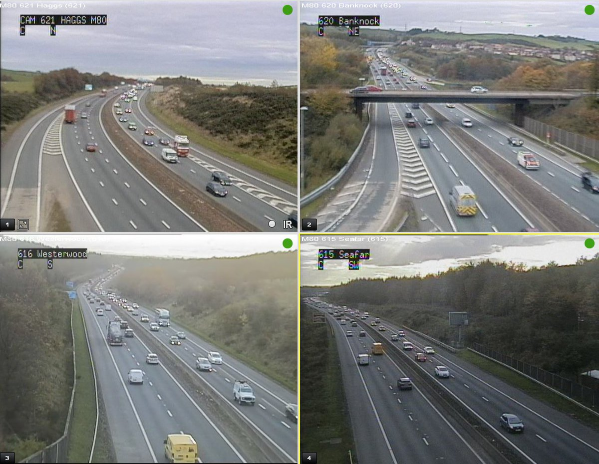 test Twitter Media - It's 16:56 & we're seeing the usual congestion on the #M80❗️  S/B from J8 & also slightly affecting the S/B #M876 N/B busy from J5 Auchenkilns to J6 Old Inns  @BEAR_M80 @CentralFM https://t.co/N8OzZxRrgM