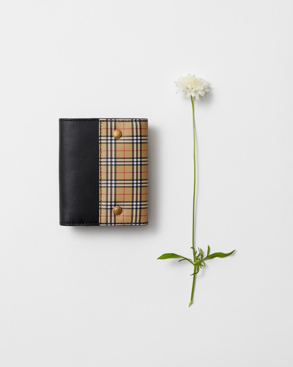 The Check Wallet. A compact leather accessory, punctuated with small-scale @Burberry check https://t.co/3LgdPhIP7L