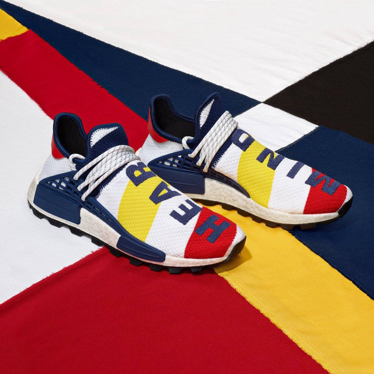 HERITAGE. The @adidasoriginals x @bbcicecream collection is out Saturday. http://adidas.com/pharrell