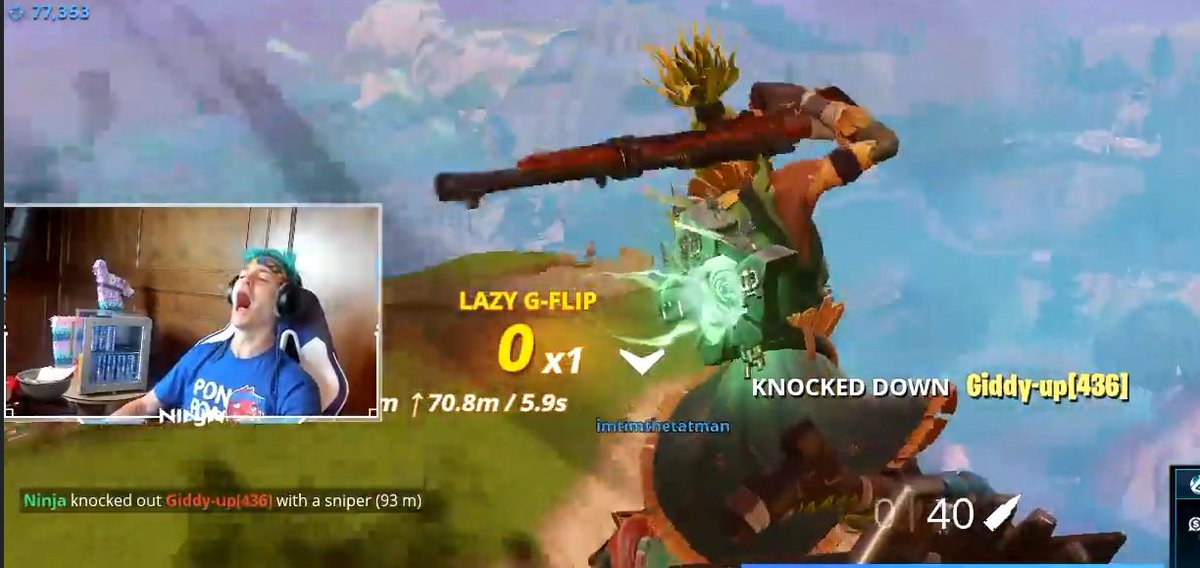 here https www twingalaxies com feed details php 3463 watch ninja hit insane fortnite backflip mid air snipe while on a quadcrasher pic twitter com - fortnite backflip